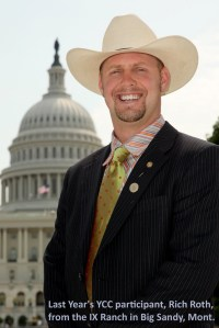 Young cattlemen's conference tour