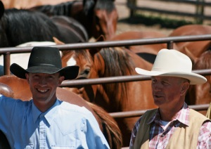 Ed & David Fryer BQA at Castle Mountain Ranch