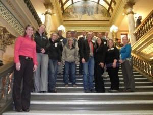 Young Farmers and Ranchers at the Capitol Montana