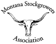 Montana Stockgrowers Logo BW