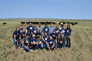 Montana Dietetics Intern Pasture to Plate Tour