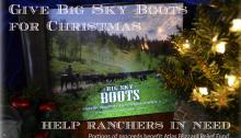 Montana Stockgrowers Big Sky Boots Rancher Christmas Gift Ideas