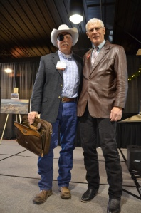 Montana Stockgrowers Association Board of Directors Mark Harrison and Gene Curry