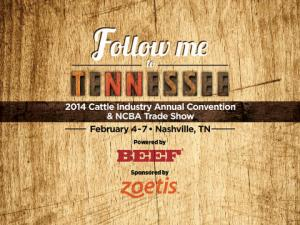 Cattle Industry Convention 2014 NCBA Trade Show Nashville TN