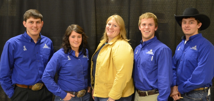 Montana Team Finishes Fourth in Nation at 2014 Cattle Industry Convention Quiz Bowl Competition