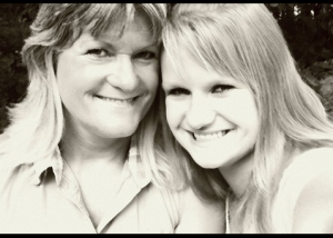 Kathy and daughter, Mandy Jo Wiley.
