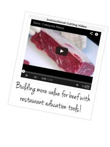 Beef Briefs Restaurant education