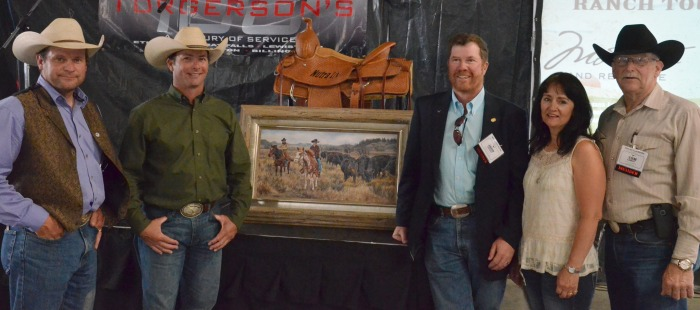 Foundation Trustees with auction items.jpg