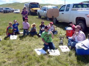 Youth participate in Super Starters events at the recent Montana Range Days