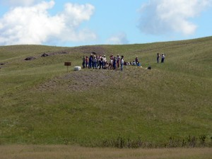 Young Adult groups participate in the recent Montana Range Days events near Havre