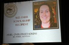 Ariel Scholarship Card--