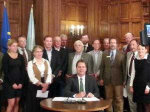 sage grouse signing executive order bullock montana habitat conservation
