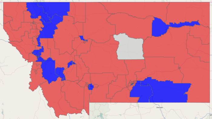 Montana State House Results 2014